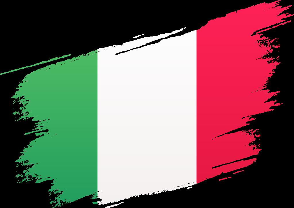 Italienische Flagge Groß - Feinkost Scarati