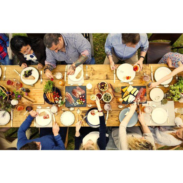 Familie Abendessen - Italienische Feinkost
