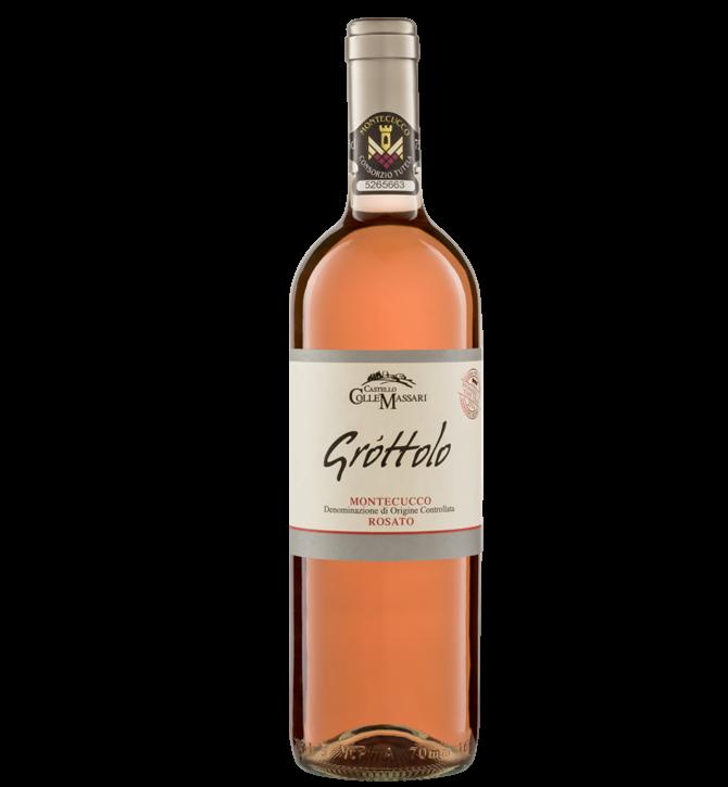Grottolo Wein in der Farbe rosé